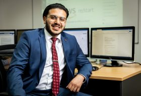 Award-winning Academy IT student able to re/Start his career in IT